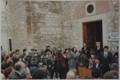 8-14 Nisan 1990 Kadın Eserleri Kütüphanesi kuruluş günü