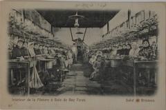 9-Bursa Koza Fabrikası çalışan işçi kadınlar -kartpostal