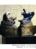 Ayla Aksungur-Bronz heykel